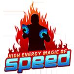 High Energy Magic of Speed Logo